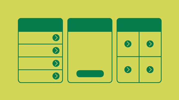 navigation menus example